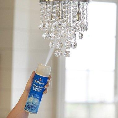 så rengör och putsar du dina kristallkronor