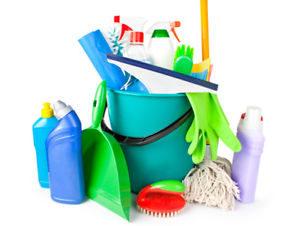 använd rätt städprodukter när du städar hemma